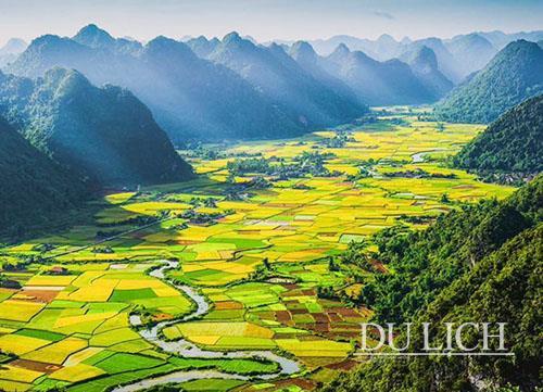 Thung lũng Bắc Sơn bình yên và đẹp đến nao lòng
